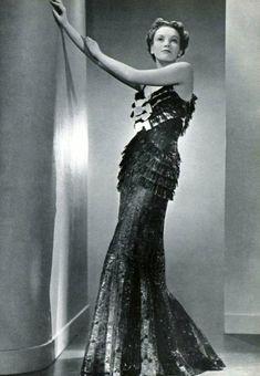 Dress Marcel Rochas, 1936