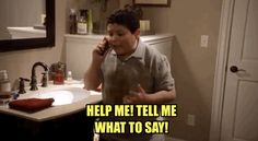 "When Manny asked Cam for dating advice. | 21 ""Modern Family"" Moments That'll Make You Laugh Every Time"