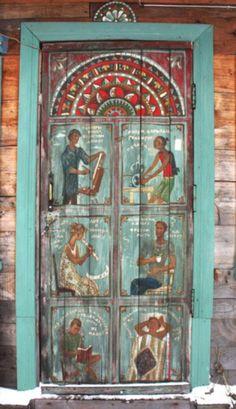 Beautiful Doors ~ Staraya Ladoga door
