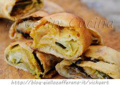 Rotolo con zucchine e provola ricetta sfiziosa veloce