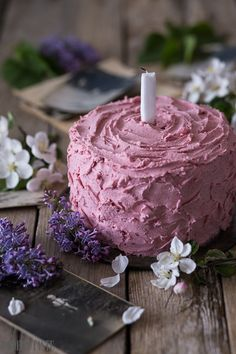 Chocolate Raspberry Birthday Cake by moderntasteblog #Cake #Chocolate #Raspberry
