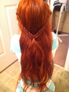 School day picture- Fishtail braid Picture Day Hair, Fishtail, Braids, Make Up, Hairstyles, School, Pretty, Pictures, Beauty