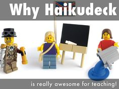 """I created """"Why Haikudeck"""" with Haiku Deck, presentation software that's simple, beautiful, and fun."""