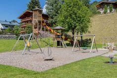 Gleich neben unserem Hotel finden Sie einen großen Spiel- und Familienpark - sogar mit Kneipp-Becken! Arch, Outdoor Structures, Garden, Ski, Vacation, Longbow, Garten, Lawn And Garden, Gardens