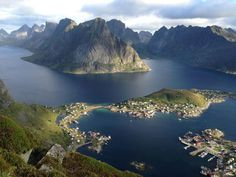 Where my great grandparents are from. Lofoten, Norway