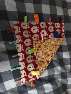 Homemade snooze blanket for baby