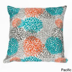 Blooms 20-inch Square Outdoor Throw Pillow | Overstock.com
