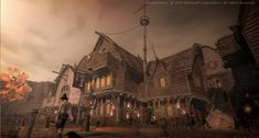 CGSociety - Fable 2 Game Production Focus