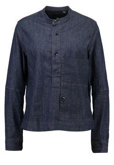 GStar STALT GRANDDAD SHIRT L/S Bluse lt wt stretch denim Bekleidung bei Zalando.de | Material Oberstoff: 99% Baumwolle, 1% Elasthan | Bekleidung jetzt versandkostenfrei bei Zalando.de bestellen!