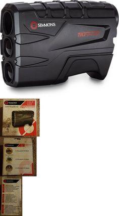 simmons tilt intelligence. range finders 31712: new simmons laser rangefinder volt 600 tilt intelligence with case - golf