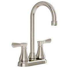 At Lowes -- American Standard Cyprus Stainless Steel 2-Handle Bar Faucet. $79