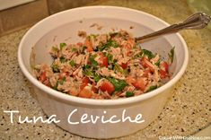 Canned tuna ceviche recipe | Laugh With Us Blog
