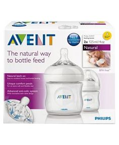 The new Philips AVENT bottle helps to make bottle feeding more natural for your baby and you. BPA free