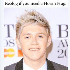 Need a horan hug? Defenitly