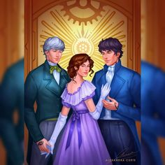 Cassandra Jean, Cassandra Clare Books, Bane, Tessa Gray, Will Herondale, Shadowhunters The Mortal Instruments, Fanart, The Dark Artifices, The Infernal Devices