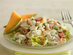 Yum..great for warm summer nights. Prize-Winning Recipe 2009! Love seafood? Take a few minutes and toss a tasty twist on BLT salad.