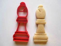 Bishop Chess Piece Cookie Cutter/Multi-Sizes by Francesca4me