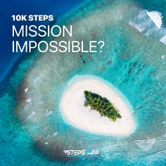 How many laps do you have to do to get your 10,000 steps? #StepsApp #Island #Vacation