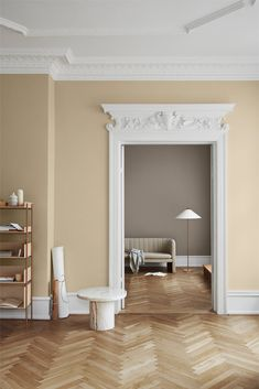 The Scandinavian company Jotun Lady predicts the interior colour trends of 2020 with 12 new colours Green Wall Color, Mint Green Walls, Wall Paint Inspiration, Color Inspiration, Home Interior Design, Interior Styling, Pastel Interior, Interior Logo, Yellow Interior