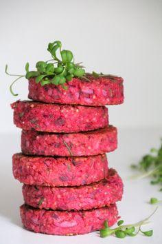 Go Veggie, Veggie Recipes, Healthy Dinner Recipes, Healthy Food, Vegetarian Cooking, Vegetarian Recipes, Quinoa Burgers, Good Food, Yummy Food