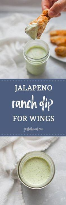 Football season is h Football season is here! That means its...  Football season is h Football season is here! That means its time for the best football food around. This jalapeño ranch dip is the perfect dip for your homemade or store bought wings. Be warned though this dip will go fast! Recipe : http://ift.tt/1hGiZgA And @ItsNutella  http://ift.tt/2v8iUYW