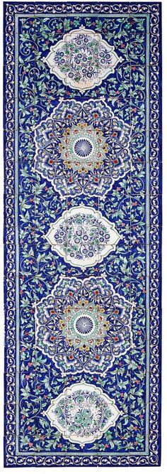 :::: ✿⊱╮☼ ☾ PINTEREST.COM christiancross ☀❤•♥•* :::: Rishtan Large Tile Panel
