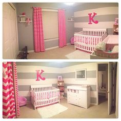 Baby Girl's Room but could do blues if it's a boy!! Love this
