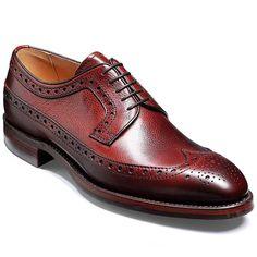 Barker Shoes - Calvay Country Brogue - Cherry Grain