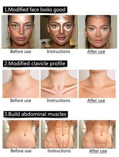 Foundation Contouring, Face Contouring, Quick Beauty Hacks, It Cosmetics Concealer, Too Faced Concealer, Unique Makeup, Contour Brush, Abdominal Muscles, Skin Cream