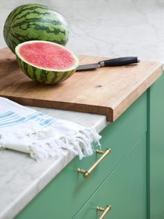 This notched cutting board won't budge no matter what kind of prep work you're doing #hgtvmagazine http://www.hgtv.com/kitchens/create-a-kitchen-that-lasts-forever/pictures/page-6.html?soc=pinterest