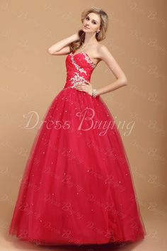 Floor Length One-Shoulder   Quinceanera/Ball Gown Dresses   ——   US$ 221.99