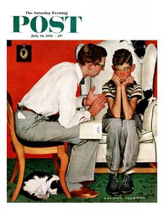 norman rockwell saturday evening post -