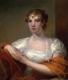 Portrait of Mary Myers Hale  Thomas Sully