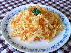 16 Zelný salát s mrkví a kmínem