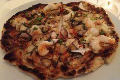Oceana-Pizza. I miss NY pizza