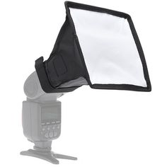 15cm x 17cm Softlight Plegable Softbox Difusor Para DSLR Cámara Linterna Negro