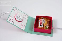 Mini-Hanuta mit Hühnchen – kleine Verpackung mit Anleitung   Stampin Up in München