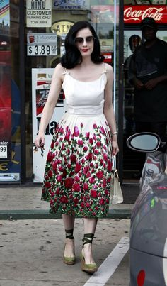 dita von teese casual - Google Search