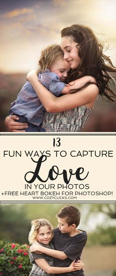 Photography tips to help you capture love in your subject while taking portraits.  how to evoke love in your subjects.