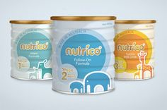 Nutrico Baby Formula on Packaging of the World - Creative Package Design Gallery