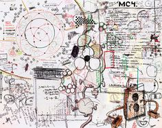 Keith Tyson Molecular Compound Iv, 1997 Oil Painting Reproductions for sale Bad Drawings, Gcse Art, Oil Painting Reproductions, Art Direction, Framed Art, Art Projects, Vintage World Maps, Hand Painted, Sketchbooks