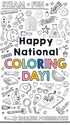 Don't forget to celebrate today with some fun coloring activities! Color Activities, Some Fun, Don't Forget, Coloring, Day, Projects, Log Projects