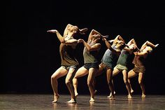 a piece from the Batsheva Dance Company. I love their work, and gaga has changed my choreography forever