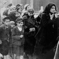 Hungarian Jews on their way to the gas chambers. Auschwitz-Birkenau killing center, May Credit: Yad Vashem Photo Archives United States Holocaust Memorial Museum : Some Were Neighbors Us History, Women In History, Jewish History, Family History, Survivor Live, Crime, Memorial Museum, Germany