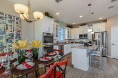 The Ryland Group. Ayden floor plan. 4 bedrooms, 2 bath. You will enjoy the oversized covered lanai on the front and rear of the home. #POH2014 #OrlandoHomes #Orlando