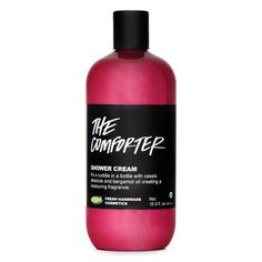 The Comforter Shower Cream: This berrylicious, reassuring shower cream is like a cuddle in a bottle.