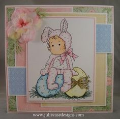 Little Bunny Tilda from Magnolia stamps.
