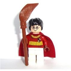 Lego Harry Potter Quidditch Outfit with Broom