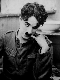 Charlie Chaplin  http://oopswrongcentury.tumblr.com/post/27868284457