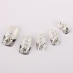 Vip Beauty Shop Wholesale 10pcs 3d Zircon Nail Art Decals Nail Art Tips DIY Decorations ** You can find out more details at the link of the image.